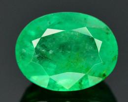 1.70 Ct Brilliant Color Natural Zambian Emerald