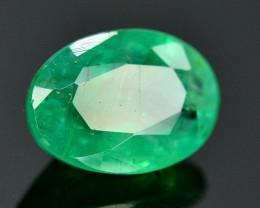 1.20 Ct Brilliant Color Natural Zambian Emerald