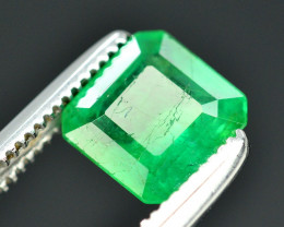 0.90Ct Brilliant Color Natural Zambian Emerald