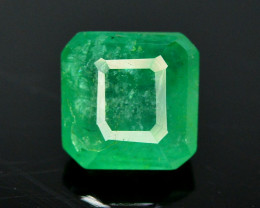 1.30Ct Brilliant Color Natural Zambian Emerald