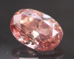 Argyle Pink Diamond 0.09Ct Natural Untreated Diamond BR13