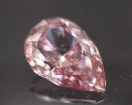 Argyle Pink Diamond 0.15Ct Natural Untreated Diamond BR16
