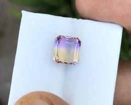 3.50 Ct Natural Bi Color Transparent Ametrine Gemstone