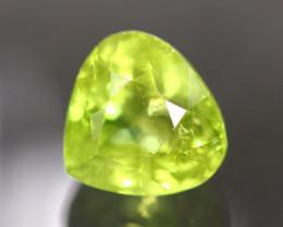 Grossular Certified 3.51Ct Natural Grossular Green Garnet