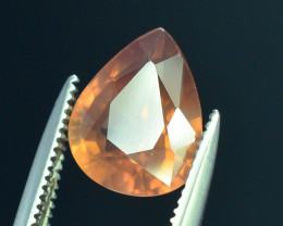 GiL Certified 2.40 ct Imperial Zircon Untreated Cambodia
