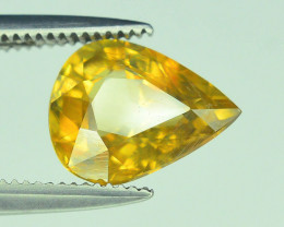 GiL Certified 2.18  ct Imperial Zircon Untreated Cambodia