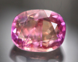 Unheated 1.68Ct Natural Certified Orangy Purple Sapphire