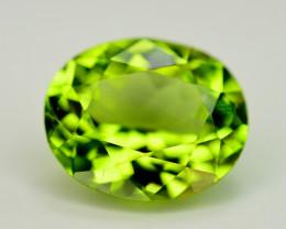 Top Green Color 2.45 Ct Natural Himalayan Peridot. RA