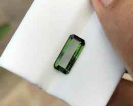 1.90 Ct Natural Greenish Transparent Tourmaline Gemstone