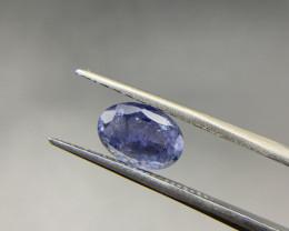 2.18 ct Tanzanite Loose Gemstone - Natural Gemstone - Oval Shape - Blue