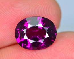 Rare 4.57 ct Grape Garnet one of a Kind Fire Mozambique