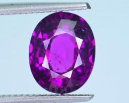 Rare 4.40 ct Grape Garnet one of a Kind Fire Mozambique