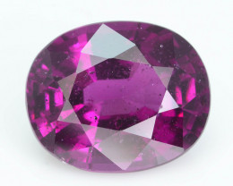Rare 6.71 ct Grape Garnet one of a Kind Fire Mozambique