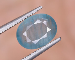 2.12 Crt Natural Rare Grandidierite Faceted Gemstone.( AG 91)