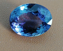 10.17ct blau-violetter Tansanit, GIA zertifiziert!
