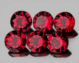 3.20 mm Round 6pcs Red Spinel [VVS]