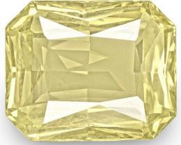 GIA Certified Sri Lanka Yellow Sapphire, 9.97 Carats, Medium Yellow