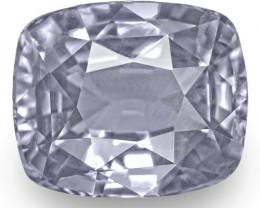 GIA Certified Sri Lanka Fancy Sapphire, 6.28 Carats, Pastel Bluish Violet