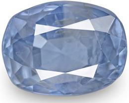 IGI Certified Burma Blue Sapphire, 2.55 Carats, Medium Blue (Color Zoning)