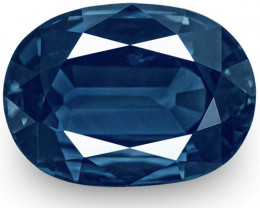 IGI Certified Cambodia Blue Sapphire, 4.43 Carats, Intense Royal Blue Oval