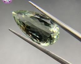 Green Amethyst (Prasiolite) 12.57 ct Loose Gemstone - Natural Gemstone