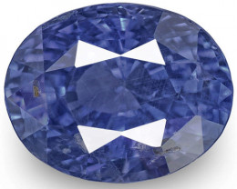 GIA Certified Sri Lanka Blue Sapphire, 3.53 Carats, Lively Cornflower Blue