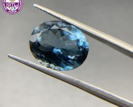 8.84 ct Blue Topaz Loose Gemstone - Natural Gemstone - London Blue