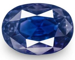 GIA Certified Sri Lanka Blue Sapphire, 8.28 Carats, Oval