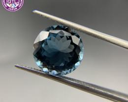 7.89 ct Blue Topaz Loose Gemstone - Natural Gemstone - London Blue