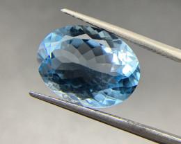 11 ct Blue Topaz Loose Gemstone - Natural Gemstone - SKY Blue