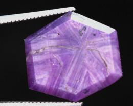 11.30  carats Trapiche Pink Kashmir Sapphire