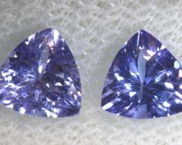 1.06 CTS  TANZANITE  FACETED  STONE  PARCEL PG-2850