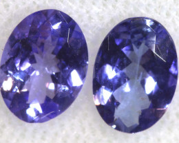 1.33 CTS  TANZANITE  FACETED  STONE PARCEL PG-2856