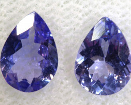 1.32 CTS  TANZANITE  FACETED  STONE  PARCEL PG-2858