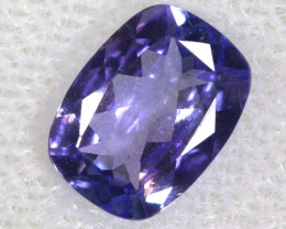 1.40 CTS  TANZANITE  FACETED  STONE  PG-2860
