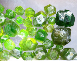 Demantoid Garnet Rough