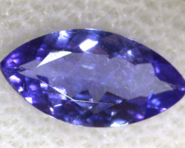 0.74 CTS  TANZANITE  FACETED  STONE  PG-2867
