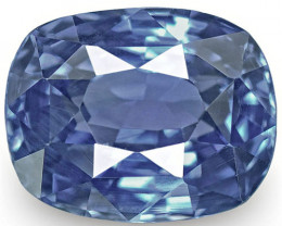 IGI Certified Madagascar Blue Sapphire, 1.53 Carats, Cornflower Blue