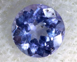 0.45 CTS  TANZANITE  FACETED  STONE  PG-2876