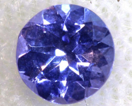 0.38 CTS  TANZANITE  FACETED  STONE  PG-2874