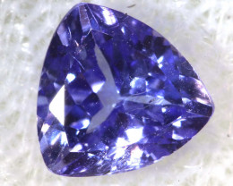 0.72 CTS  TANZANITE  FACETED  STONE  PG-2872