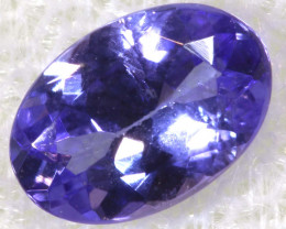 0.74 CTS  TANZANITE  FACETED  STONE  PG-2871