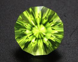 Peridot 2.60 ct Custom Cut Peridot Gemstone