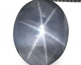 Sri Lanka Fancy Star Sapphire, 2.50 Carats, Violetish Grey Oval