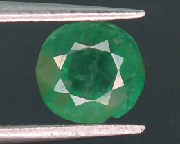 Top Quility 0.75 ct Natural Vivid Green Color Emerald~Swat ~ G AH