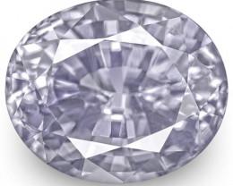 IGI Certified Sri Lanka Fancy Sapphire, 2.64 Carats, Lavender Oval