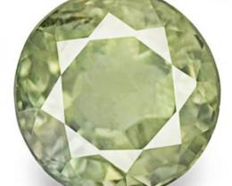 Australia Fancy Sapphire, 0.61 Carats, Vivid Pastel Green Round
