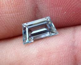 1.12cts Natural Aquamarine Trapizoid Cut