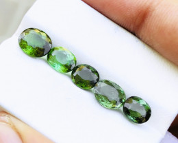 6.10 Ct Natural Greenish Transparent Tourmaline Gemstones Parcels