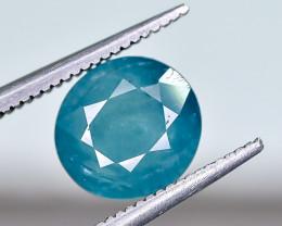 2.49 Crt Natural Rare Grandidierite Faceted Gemstone.( AG 92)